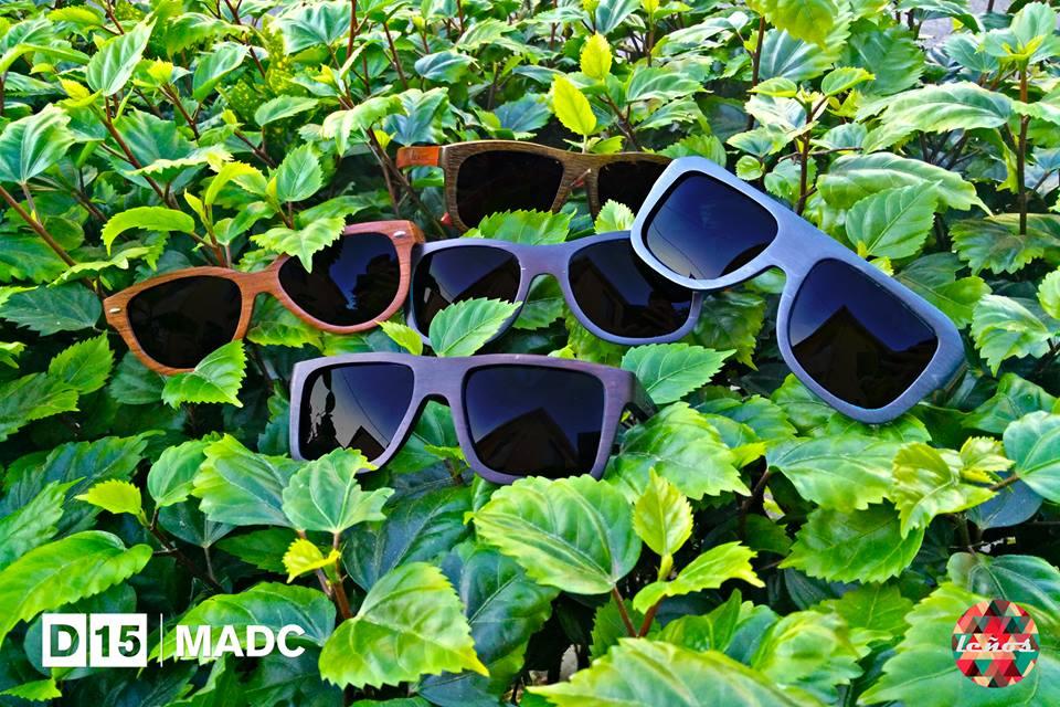 Leños. Lentes en madera. Foto cortesía del MADC.