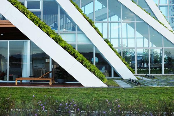 Hualien residences, Bjarke Ingels Group, Taiwán.