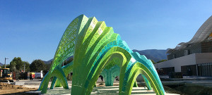 Pleated Inflation, de Marc Fornes & Theverymany™