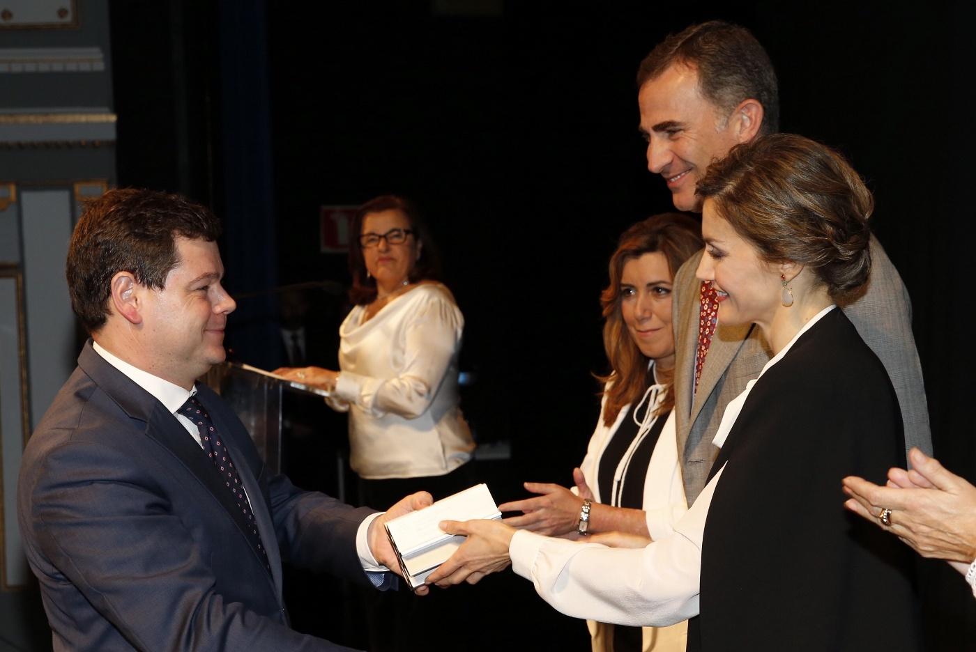 """Jaime Moreno Medina, Premio Nacional de Diseño 2015, categoría """"Profesionales""""."""