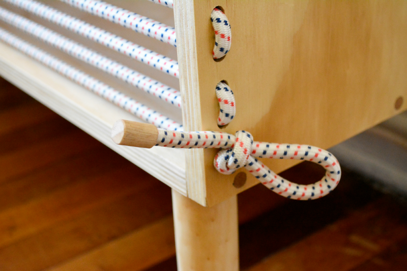 Rack Cuerda by Emmanuel González Guzmán, 2015