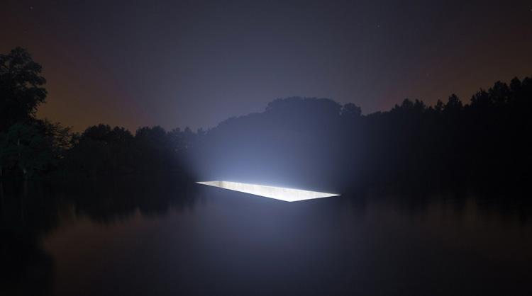 Untitled, el monolito de luz de 88888