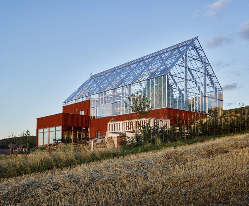 Uppgrenna Nature House, Tailor Made Arkitekter y Greenhouse Living, 2015 © Ulf Celander