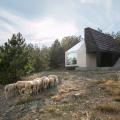 Divcibare Mountain Home, la casa dual de EXE studio
