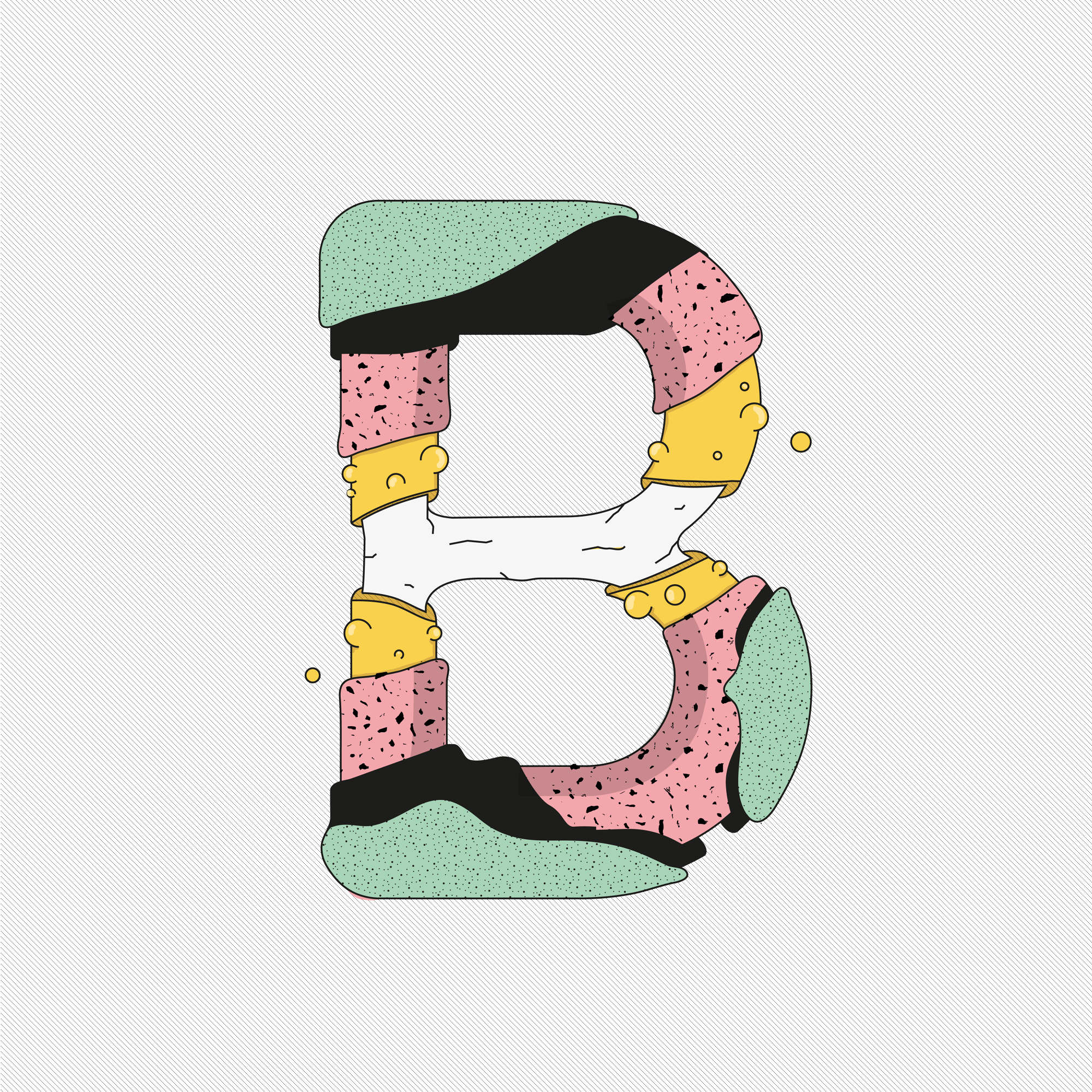 36 days of type, Mariano Pascual, 2015.