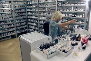 Sissel Tolaas. Experta en olores. Noruega. Foto cortesía del FID.