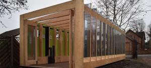 Greenhouse that grows legs, el invernadero hidráulico de BAT Studio