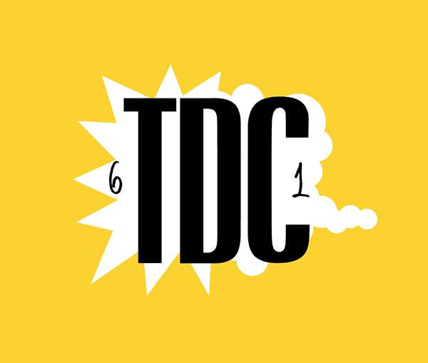 Exposición TDC61, Central de Diseño de Matadero Madrid, 2016