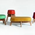 Ceramicables, las mesas/banco de Esrawe Studio