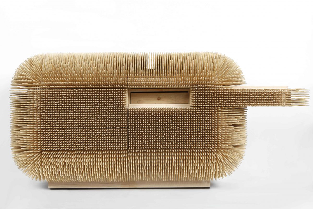 Magistral Chest, Sebastian Errazuriz, 2014.