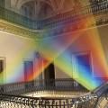 Plexus, los arcoíris textiles de Gabriel Dawe