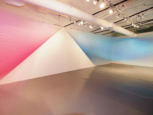 Plexus no. 26, Gabriel Dawe, San Antonio (Estados Unidos), 2013.