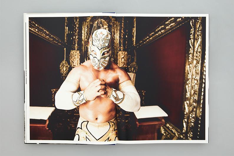 Lucha: a Tribute, diseño editorial de Blok Design