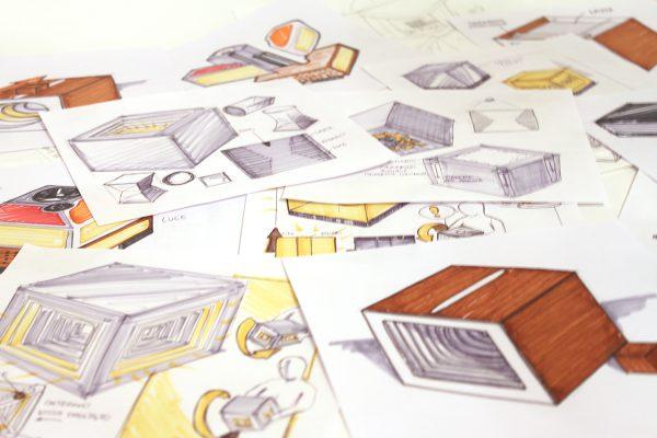 Panta Rei, el cubo luminoso diseñado por los estudiantes del master en Product Design for Innovation del Politécnico de Milano, (Italia), 2016