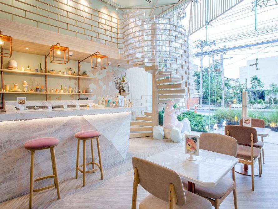 Shugaa, un espacio para disfrutar del postre en Bangkok