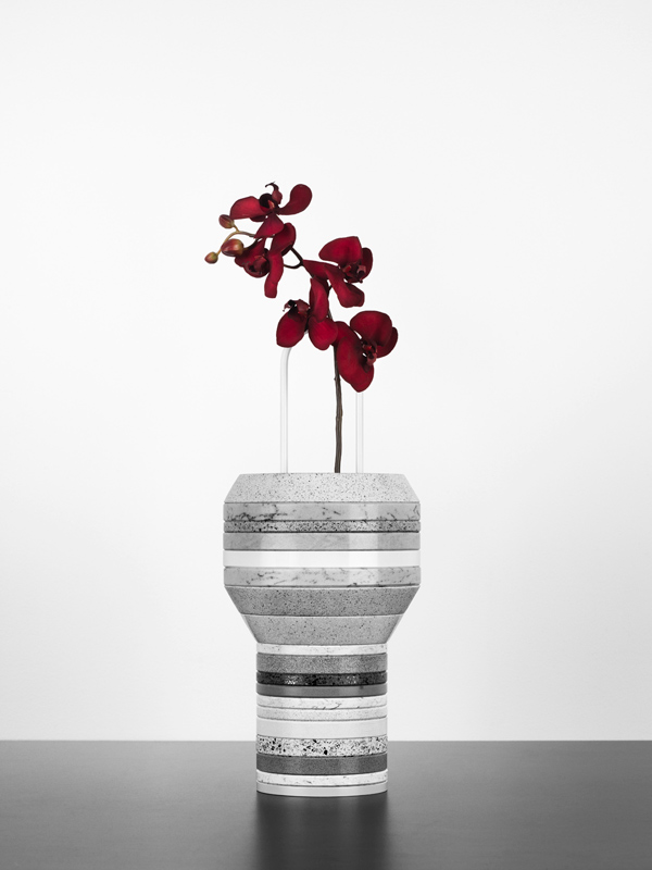Silestone® Slab Vases, Form Us With Love, grupo Cosentino, 2012.