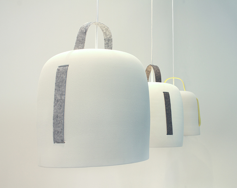 Lámpara Cowbell, de Silvia Ceñal para Massmi