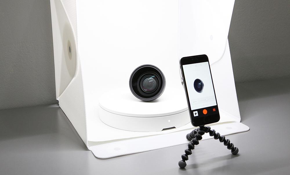 Foldio360, la plataforma para fotografiar en 360 grados con smartphones