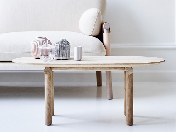Savannah Coffe Tables, de Monica Föster para Erik JØrgensen