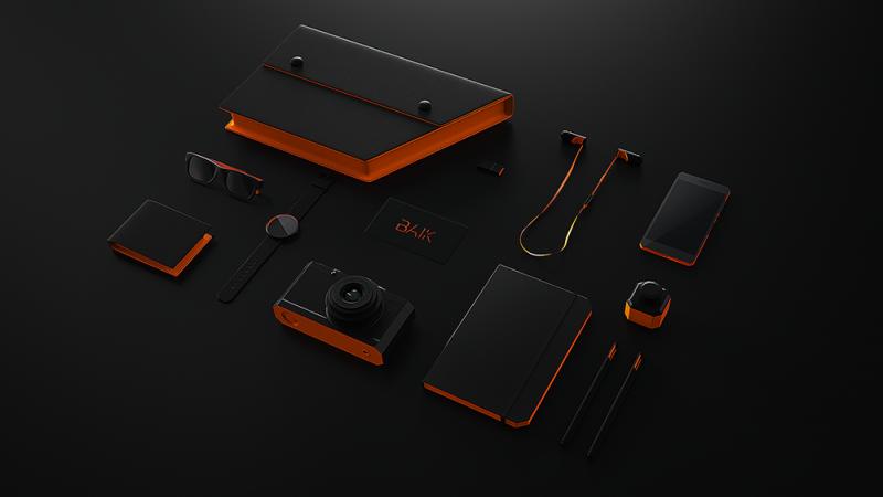 Productos de branding de Baik, Ion Lucin, 2016
