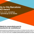 City to city Barcelona FAD Award 2016