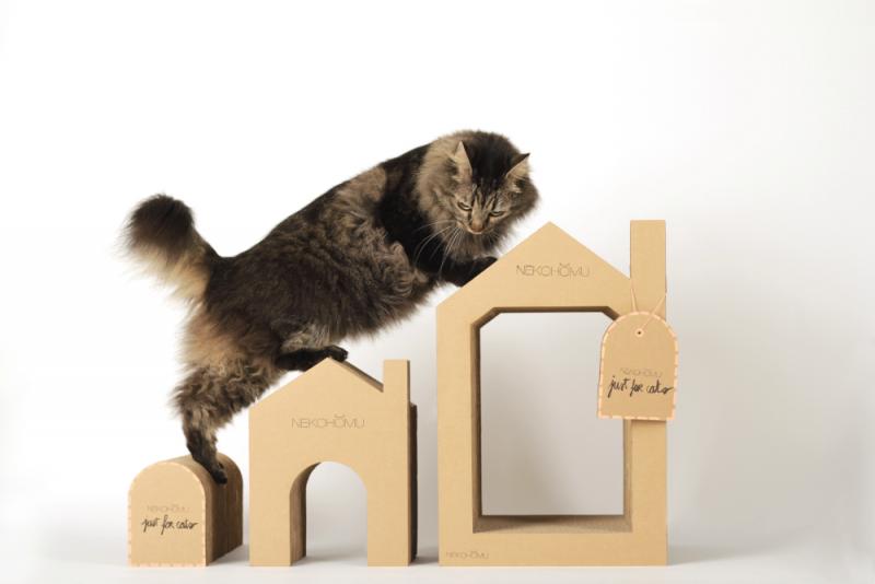 Nekohomu, Casa para gatos, Ana Hospitaler, Valencia (España), 2016