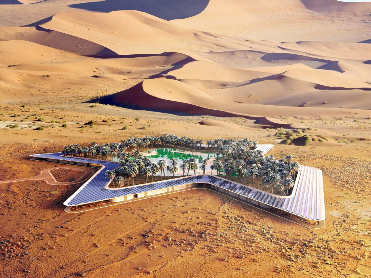 Oasis Eco Resort, Baharash Arquitectura, 2016.