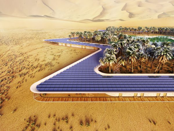 Oasis Eco Resort, Baharash Architecture, 2016.