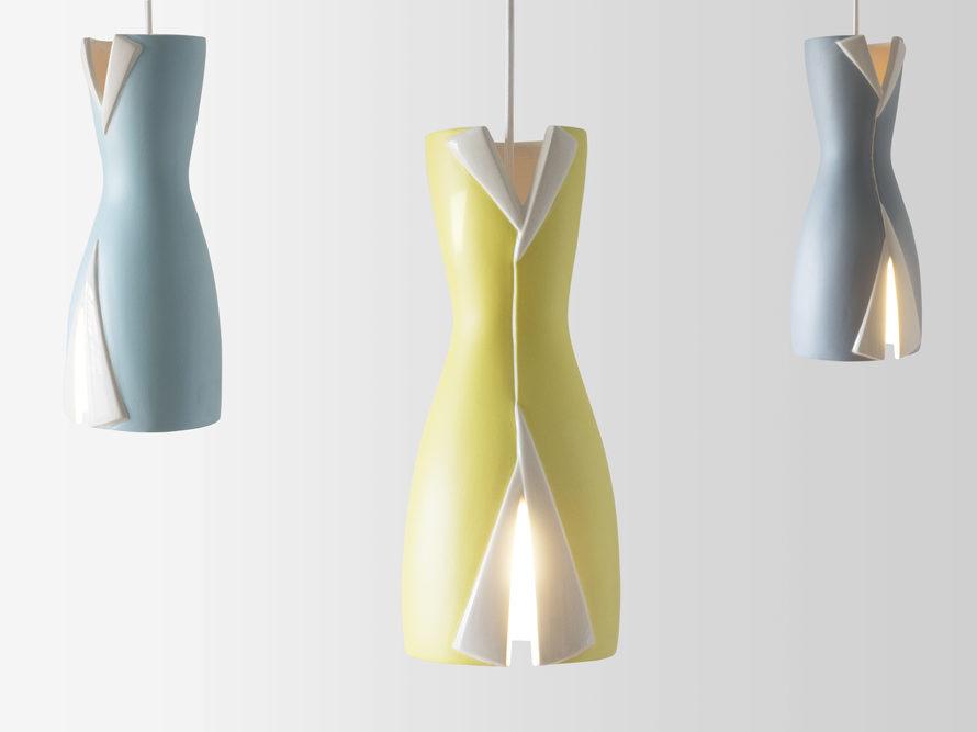 Raf Lamp, lámpara de cerámica de Silvia Ceñal