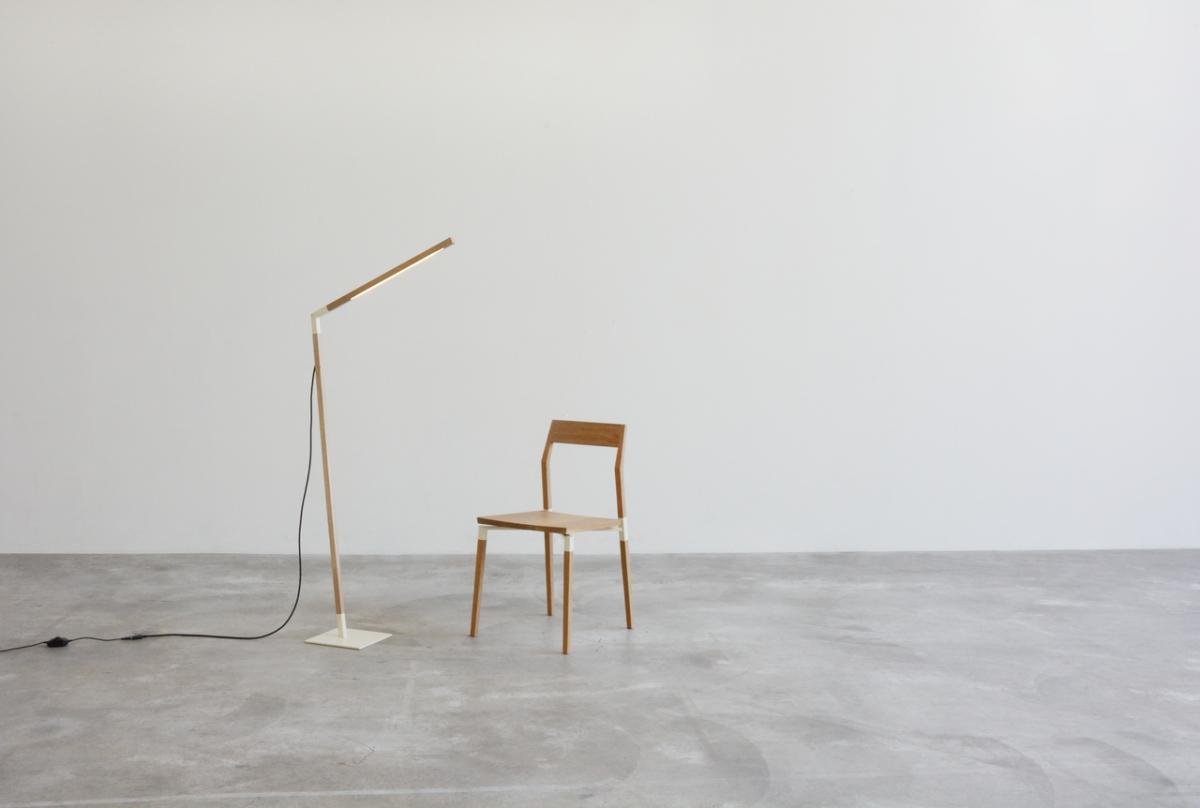 Lámpara de pie Palmerston, de Holli + Morris