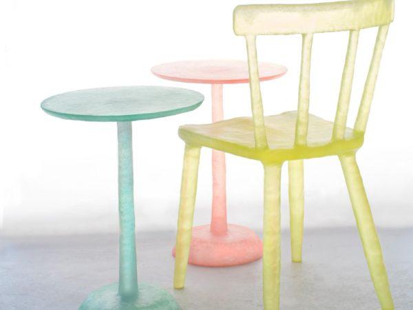 Vasos, Colección Glow, Kim Markel