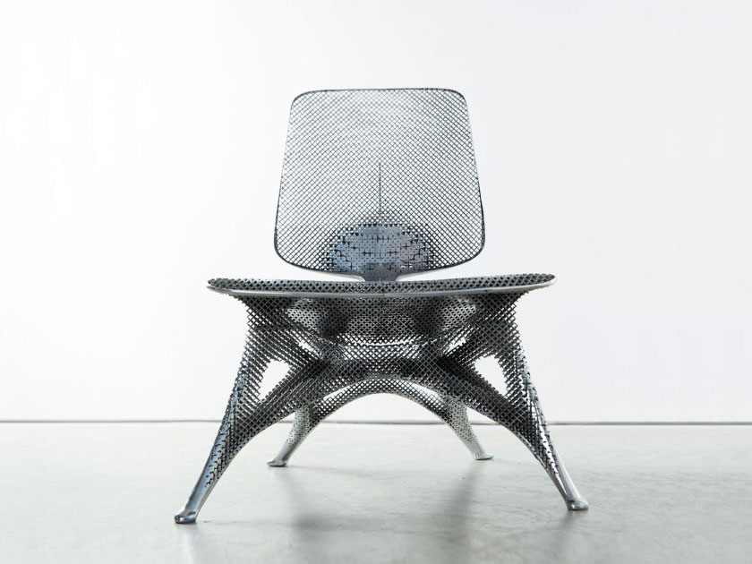 Aluminum Gradient Chair, Joris Laarman Lab, Holanda, 2016 © JL, Friedman Benda Gallery, Adriaan de Groot