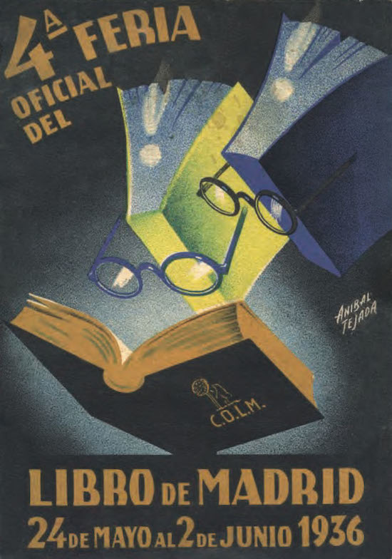 Los carteles de la Feria del Libro de Madrid, una lectura visual