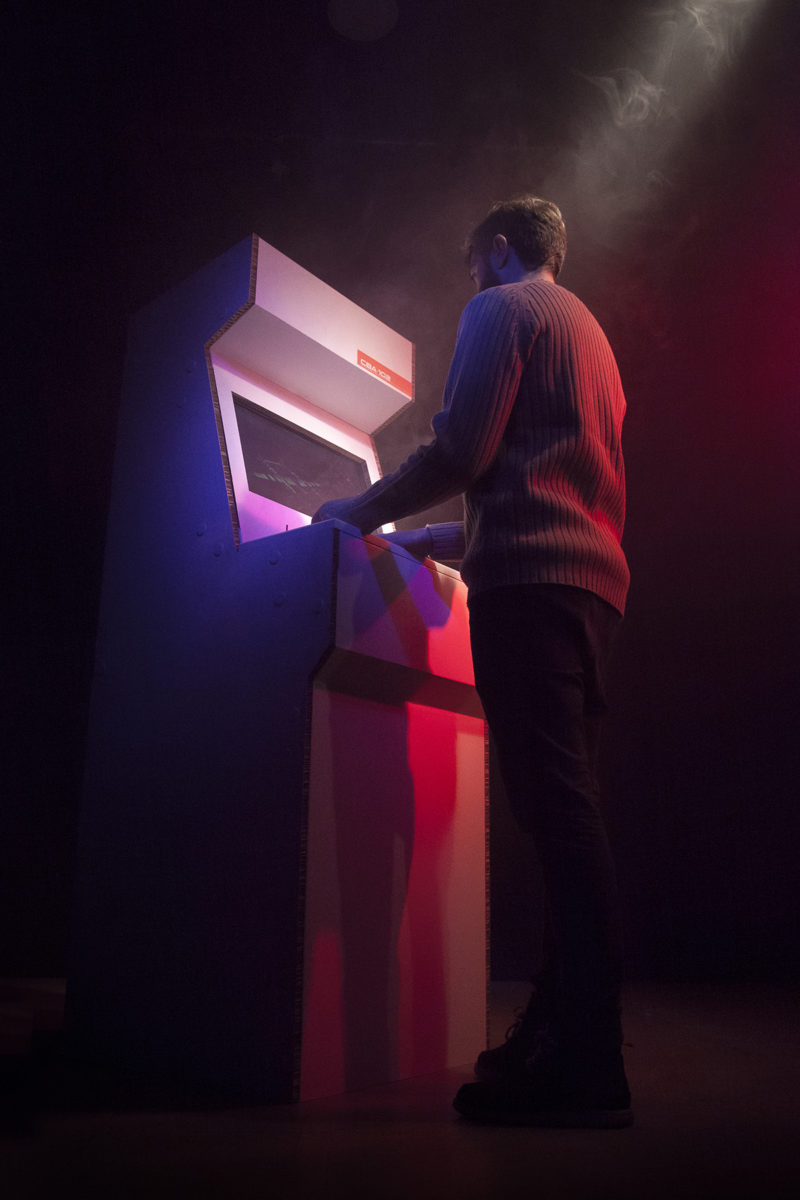 CBA-102, la máquina recreativa de cartón de Cardboard Furniture and Projects