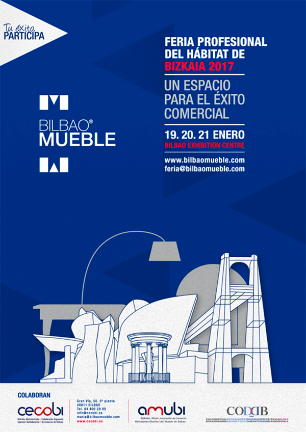 Bilbao Mueble, feria profesional del hábitat de Bizkaia 2017
