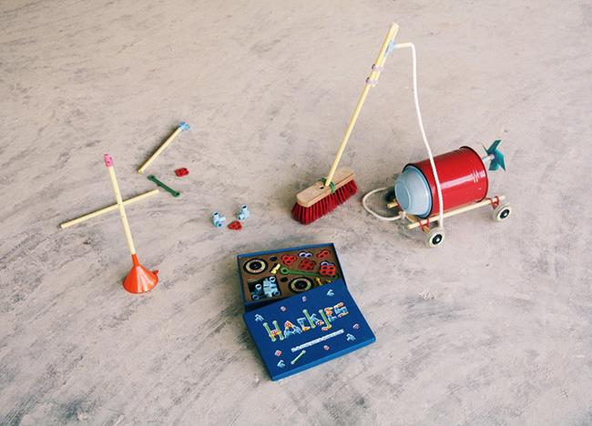 Hackjes, los juguetes DIY de David van der Stel