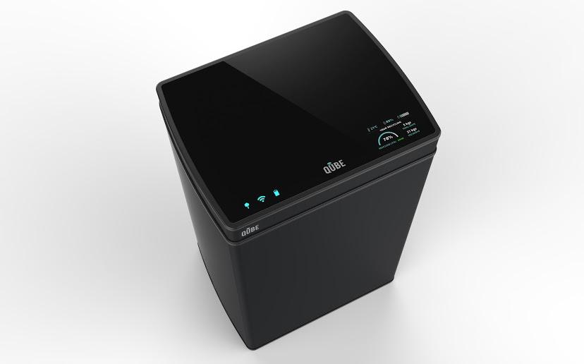 Qube, el primer cubo de residuos inteligente