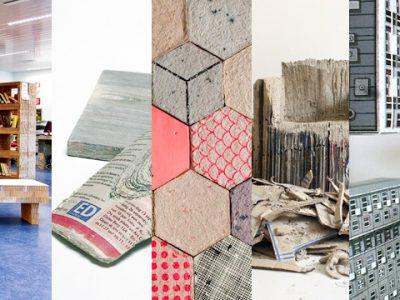Temático: las mil y una posibilidades del papel reciclado