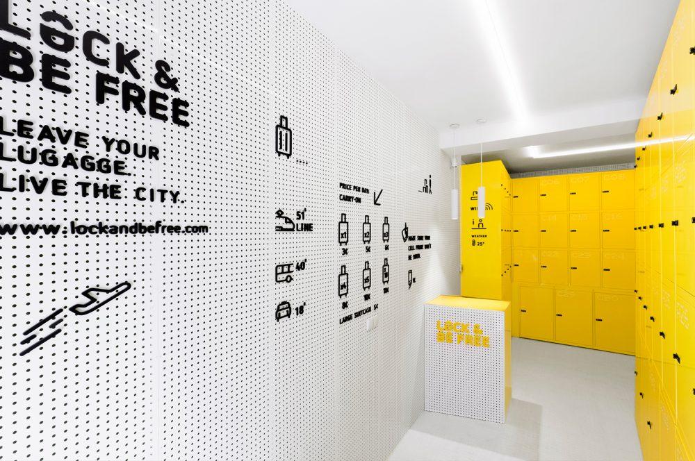 Branding, comunicación e interiorismo de Wanna One para Lock & Be Free