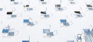 50 Manga Chairs, una instalación de Nendo