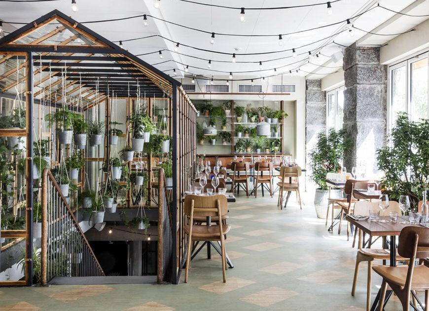 Väkst, de Genbyg Design. Un oasis en pleno centro de Copenhague