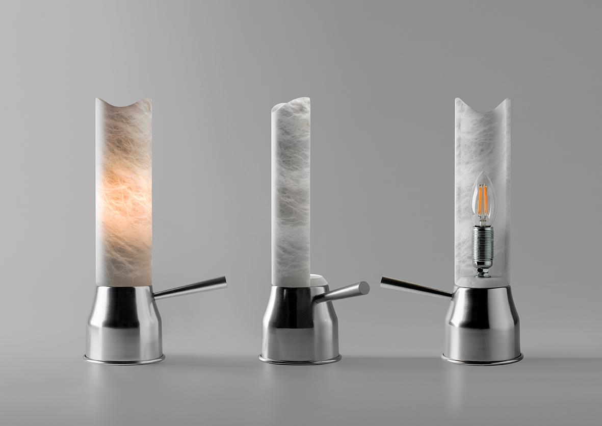 Metalarte recupera la lámpara Liquid de Pedro Miralles