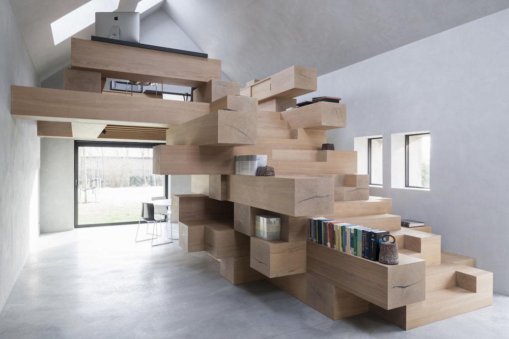 La escalera multifuncional de Studio Farris Architects