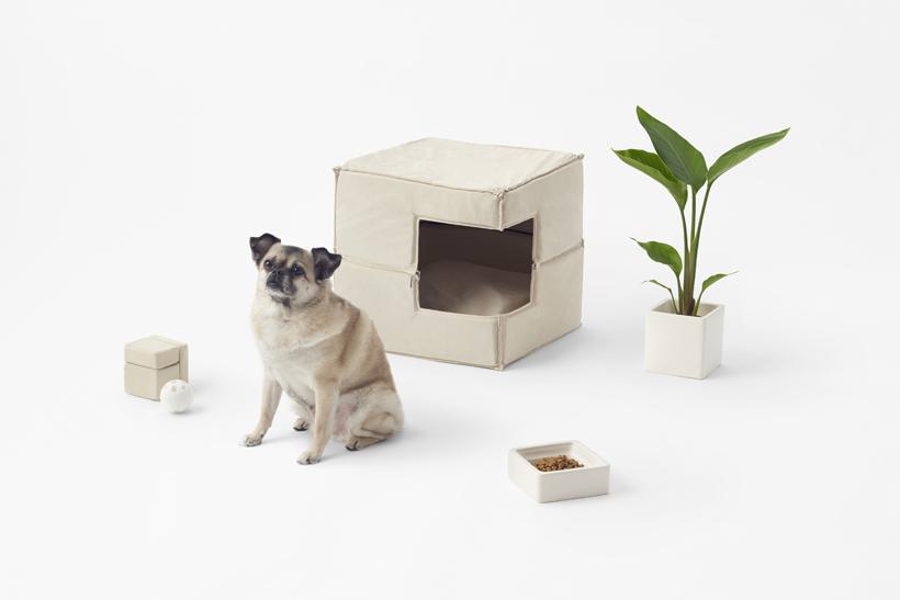 Cubic Pet Goods, la colección para mascotas de Nendo