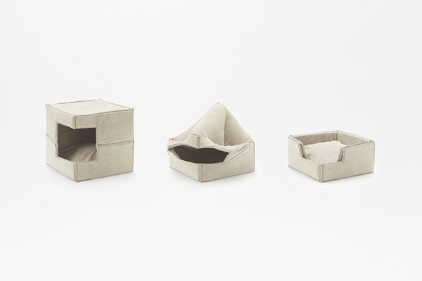 Cubic Pet Goods, Nendo, 2016.