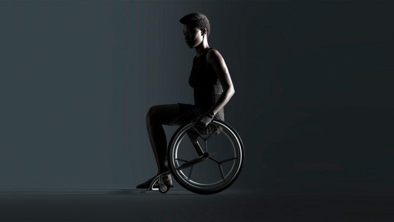 Go, la silla de ruedas impresa en 3D de Benjamin Hubert
