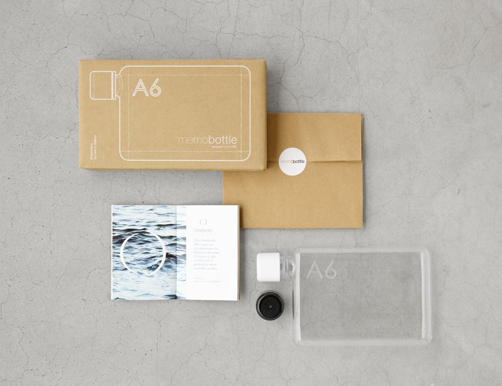 Memobottle™, minimalismo, diseño sostenible y funcionalidad