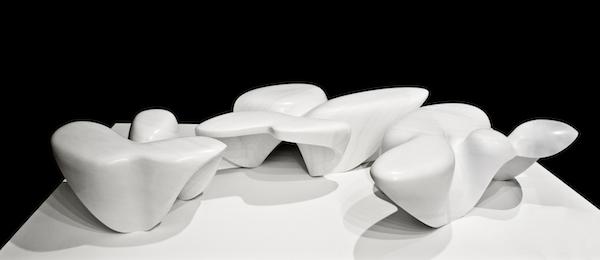 Mercuric Table Collection, Zaha Hadid, 2013.