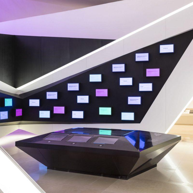 Museo del Mañana, exposición principal, Río de Janeiro, 2016, ©Andrés Otero