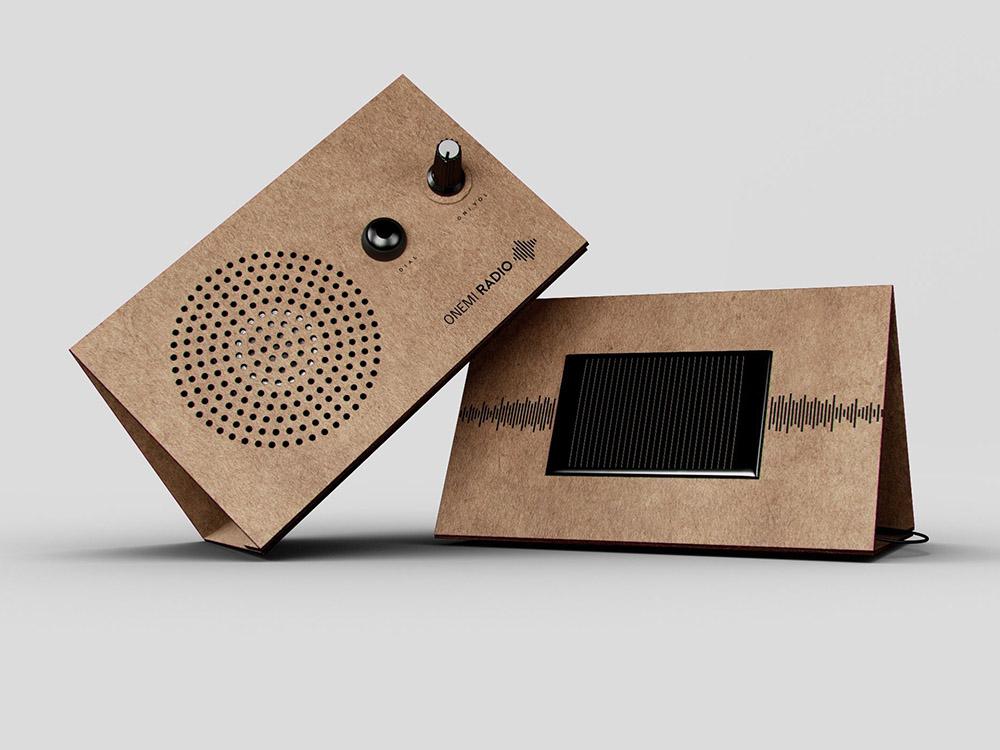 ONEMI Radio, la radio solar que salva vidas de Shackleton